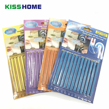 12Pcs/set Sani Cleaning Sticks Sewage Decontamination Deodorant for Kitchen Toilet Bathtub Drain Cleaner Sewer Cleaning Rod mp 3500 twisted blade sewage pumping septic sewer toilet without clogging sewage pumps garbage