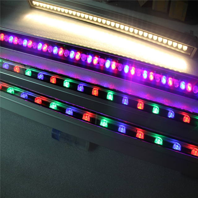 16key remote controller ac85265v rgb led bar light outdoor 16key remote controller ac85265v rgb led bar light outdoor waterproof 36w led wall washer mozeypictures Choice Image