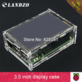 "2016 Acrylic Case Compatible for Raspberry Pi 2 Pi3 Model B Original 3.5"" LCD TFT Touch Screen Display"