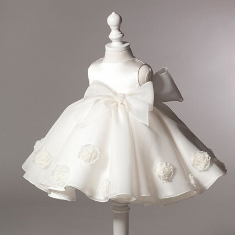Christening Gowns From Wedding Dresses: New Princess Dress Ball Gown Infant Wedding Dress