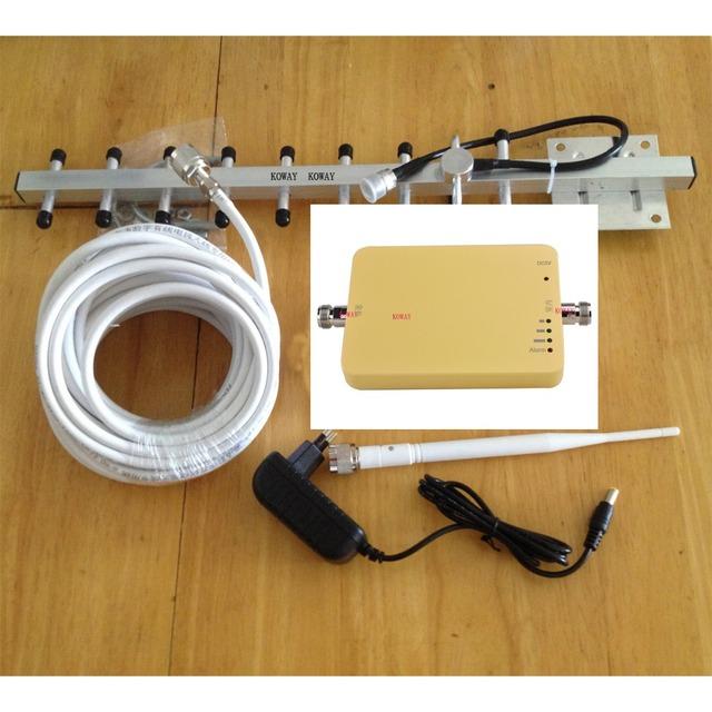 2016 de BAJA radiación 3G repetidor de señal 2100 mhz 3G amplificador de señal con la luz de alarma, 3G amplificador de señal de teléfono móvil
