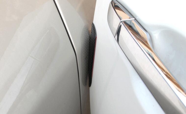 Автомобильная защитная наклейка из волоконного волокна на боковой край двери для Alfa Romeo 159 147 156 hyundai Solaris Tucson I30 IX35 Accent аксессуары