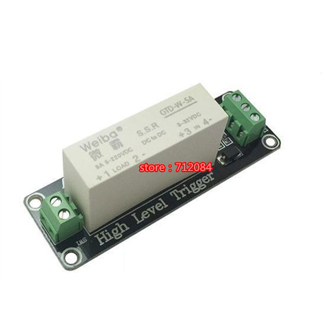 1 channel solid state relay module high level trigger 5a dc for 1 channel solid state relay module high level trigger 5a dc for plc automation sciox Gallery