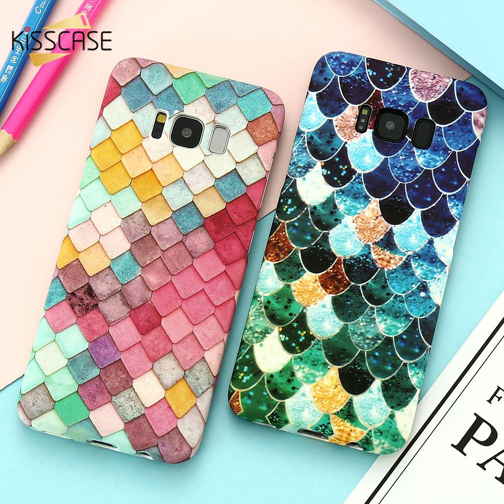 KISSCASE Luminous Case For Samsung Galaxy Note 10 S9 j5 j7 J6 J8 2018 Case 3D Colorful Cover For Samsung A8 A7 2018 A9 note 9 S7 image