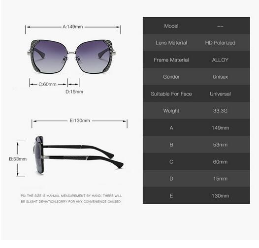 Female polarized elegant butterfly brand designer lady polarized sunglasses female Oculos De Sol KINGSEVEN shadow s'40 6