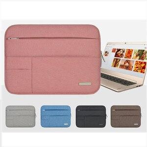 Image 2 - Nam Nữ Nylon Mềm Xách Tay Nữ Tay Đa Năng Bỏ Túi cho MacBook Pro/Air Retina 11 13 inch Túi dành cho Mac 13.3
