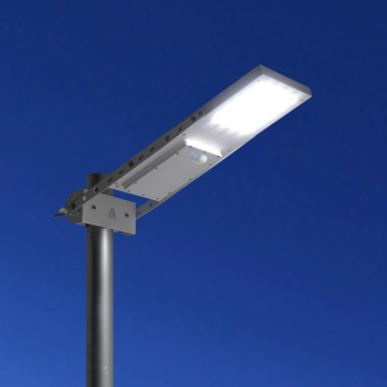 Alpha 1080X Outdoor Motion Sensor Solar Powered LED Pole Wall Street Path Solar Licht Voor Tuin 3 Werkmodus Solar lamp