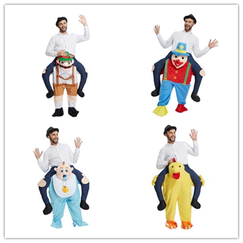2017 Carnival Brewery Festival Party Birthday Happy Playing Clothing Animal Horse Riding Clothing Pants