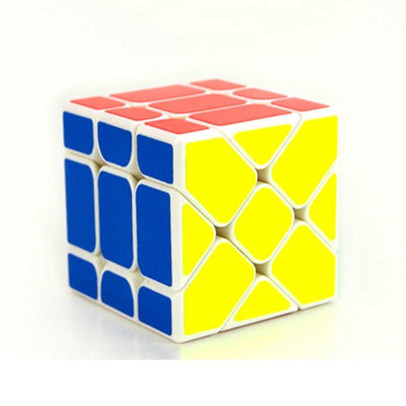 Новое поступление YongJun YJ Speed 3x3x3 Fisher Cube магические кубики скоростная головоломка Обучающие Развивающие игрушки для детей Cubo Magico