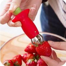 Kitchenware Tomato Stalks Fruit Strawberry Knife Stem Remover Strawberry Slicer Strawberry Huller