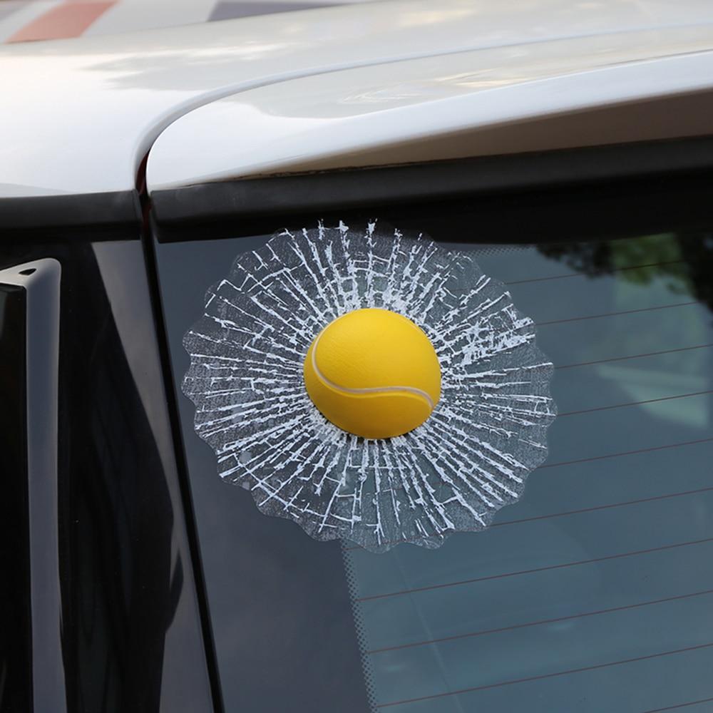 Aliauto Juokingi 3D automobiliniai lipdukai Futbolo Krepšinis - Automobilių išoriniai aksesuarai - Nuotrauka 4