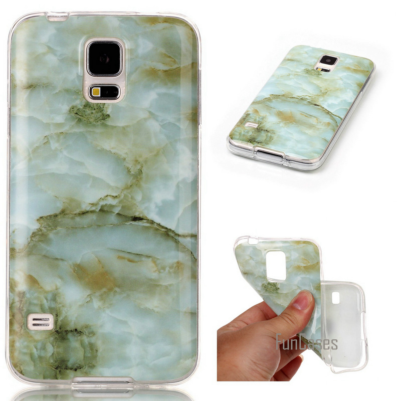 For Samsung Galaxy S5 case Soft Silicone TPU cover For Samsung Galaxy S 5 SV I9600 G900S ...