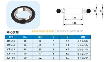 10pcs/lot KF10 Aluminum Center frame and Fluorous rubber O ring 10pcs lot ucc2802 ucc2802d ucc2802dtr