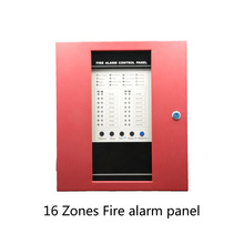 (1 set) 16 wire zones Fire Alarm Control Board Support Smoke Detector Lpg Gas leaking Home security self-defense System
