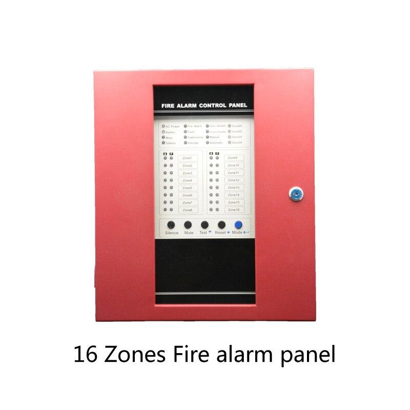 (1 Satz) 16 Draht Zonen Fire Alarm Control Board Support Rauchmelder Lpg Gas Austritt Home Security Selbstverteidigung System Ausgezeichnet Im Kisseneffekt