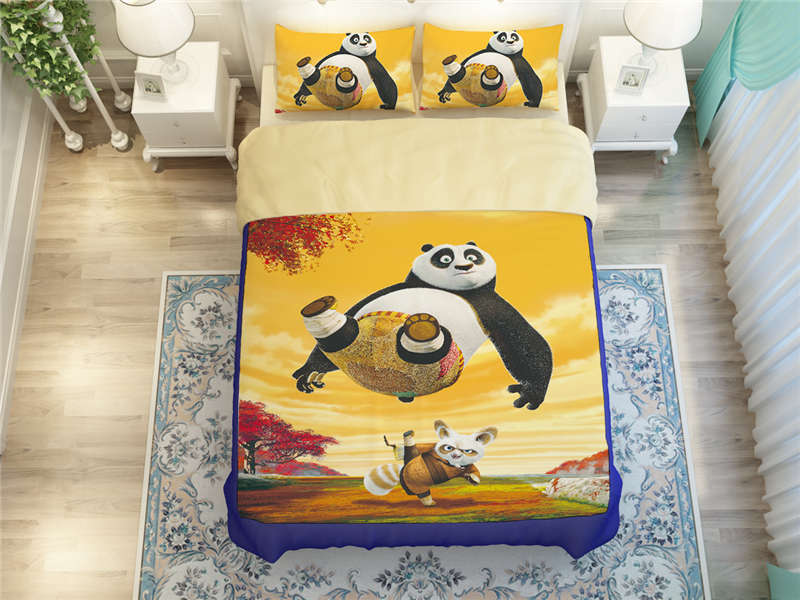 Online Kaufen Großhandel kung fu panda bedding set aus China kung ...