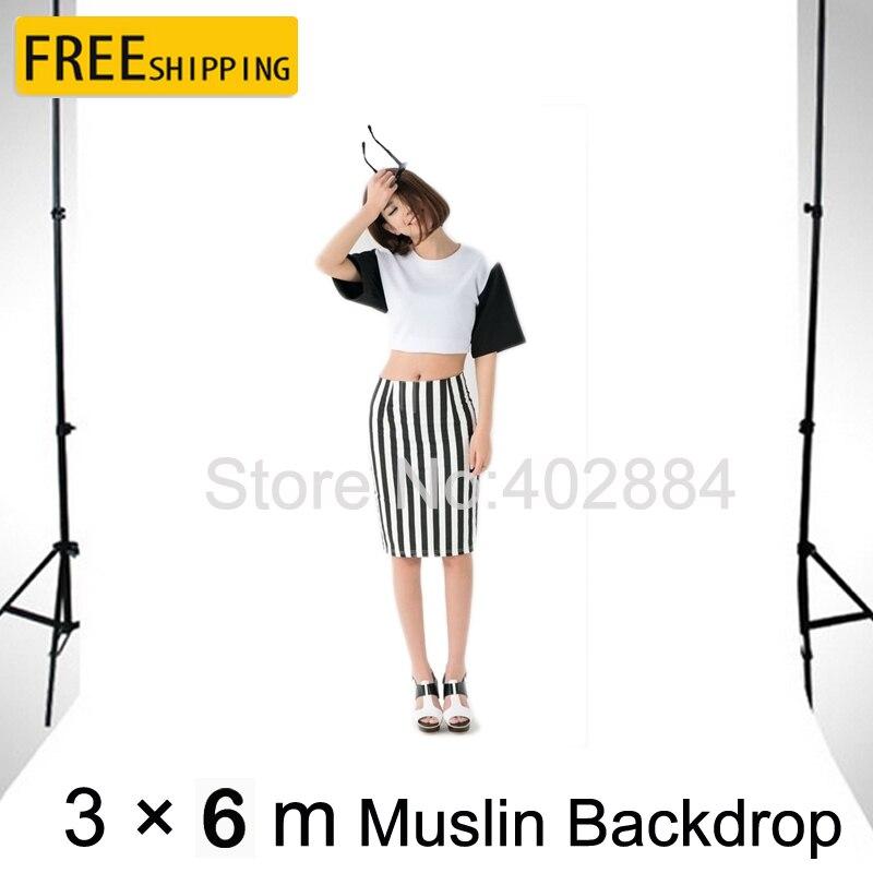 Photo Studio fond 3*6 M mousseline toile de fond écran blanc ChromaKey pour Photo sectionnel dessin découpe