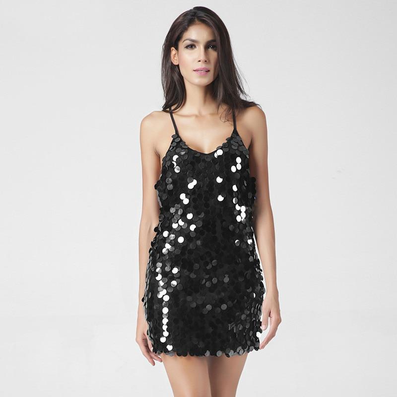 Ljeto Deep V izrez naokolo Backless Luksuzni Haljina Seksi Party - Ženska odjeća - Foto 6