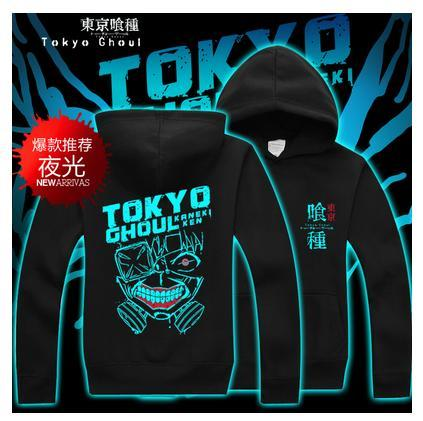 High-Q Luminous Tokyo Ghoul Hoodie Sweatshirts