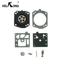 Kelkong 1セットキャブレターwalbro K22 K22 HDA炭水化物修理キットガスケットエコー針ダイヤフラムhomeliteトリマー部品