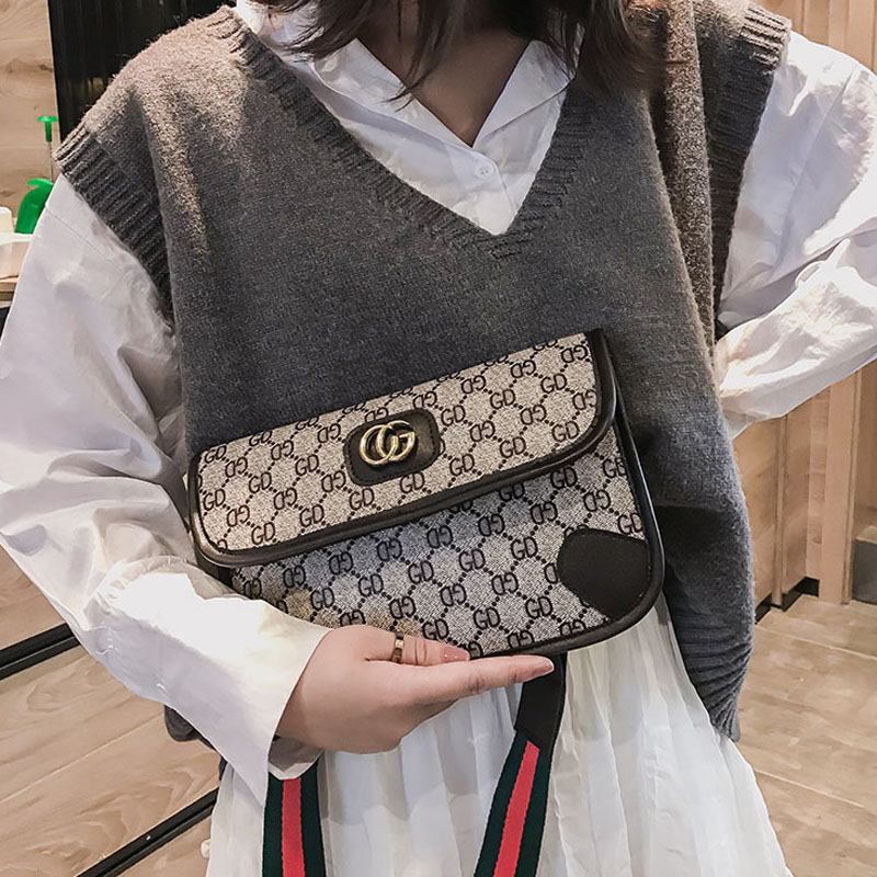 Luxury Handbags Famous Brand Women Bag Designer Single Shoulder Skew Span Small Bag Gift Change Mobile Phone gg bag sanrio