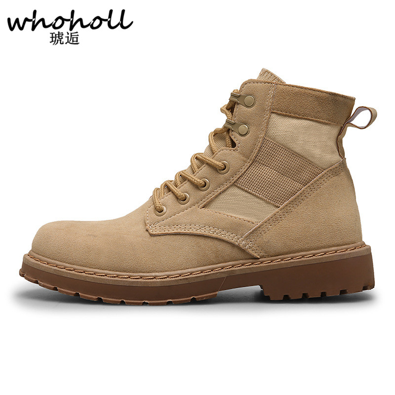 Man Martin Shoes Boots British Army Tooling Boots Men Snow Leather Waterproof Rubber Winter Leisure Martin Autumn Boots Shoes bullock men s winter warm cashmere men martin boots help british retro style boots shoes for men high leather shoes breathable