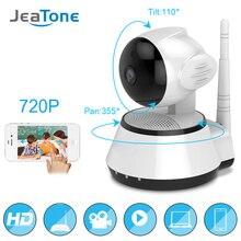hot deal buy jeatone home security ip 720p hd mini camera wireless smart wifi network camera wi-fi audio record surveillance baby monitor