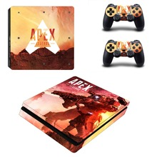 Apex legends Vinyl Decal Protective Skin Cover Sticker for PS4 Slim Console and Two Controller