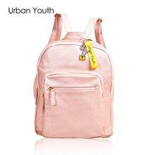Городской Молодежный бренд Модные женские туфли рюкзак из искусственной кожи с кисточками Рюкзаки Качество девушка backbag Подростковая школьные рюкзаки книги Air