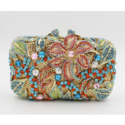 Fashion diamonds party purse Evening Bag Clutches Women shoulder bag handbag Chain Crystal Bag Handbags black/gold/blue/green free shipping 100pcs thx203 thx203h dip 8 make in china