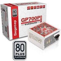 Segotep 600 Вт GP700P atx компьютера PC Питание настольных игр PSU 80 Plus Platinum Active PFC DC DC 94% эффективность Универсальный