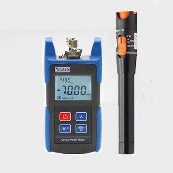 TL510A -70~+10dB Handheld Mini Optical Power Meter +TL532 Visual Fault Locator 10mw