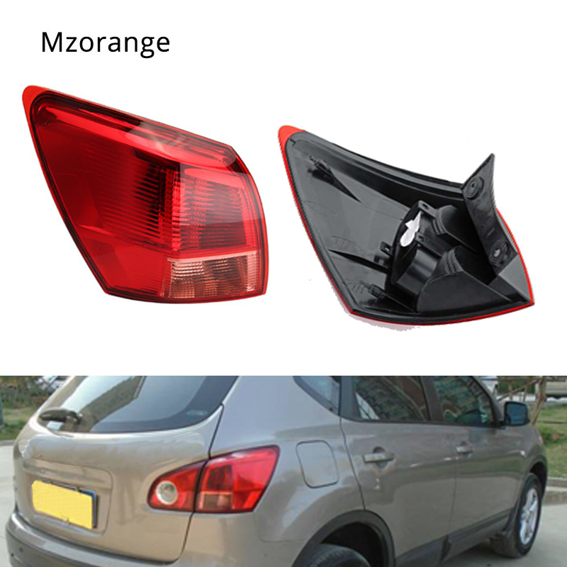 MIZIAUTO Tail light Left Right Outer for Nissan Qashqai 2007 2008 2009 2010 Rear Tail Light Lamp Taillight Brake Lamp Stop Light in Car Light Assembly from Automobiles Motorcycles