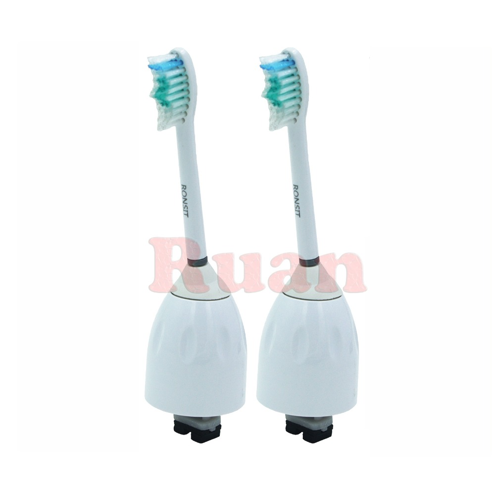 4 x mini spazzole di ricambio HX6074 per Philips Sonicare FlexCare Spazzolino da denti