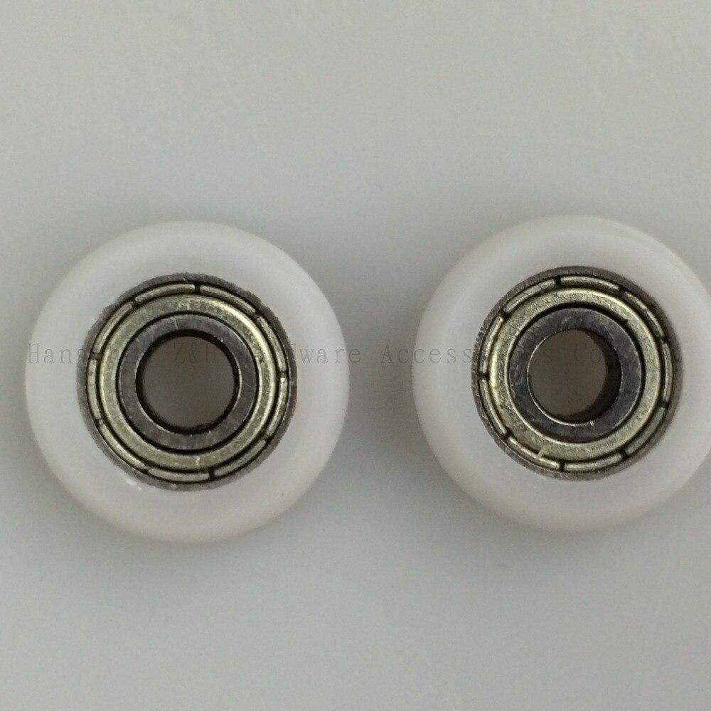 High quality 10PCS mm 5*18*6 5mm bearing  sliding wardrobe door rollers