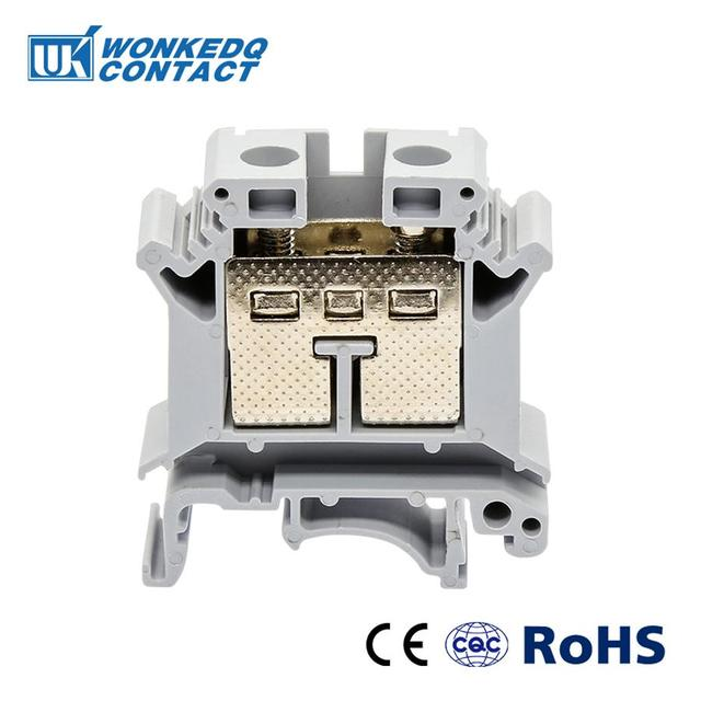 US $6 41 20% OFF|Din Rail Terminal Blocks 10Pcs UK 25 Instead of PHOENIX  CONTACT Universal Class Connector Screw Terminal UK25-in Terminal Blocks  from