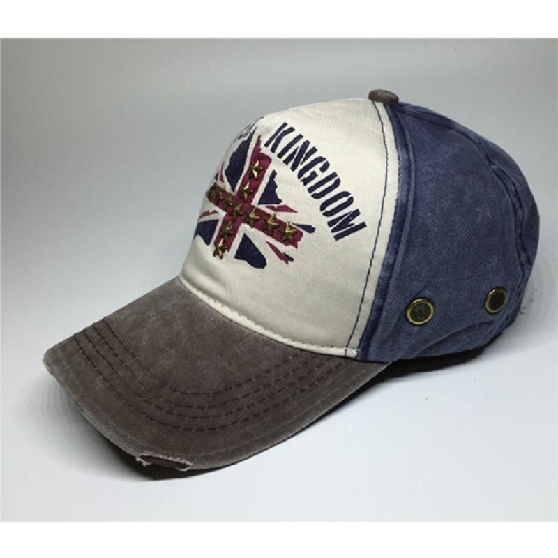 Skull United Kingdom British Flag Unisex Baseball Cap Highly Breathable Fishing Caps Adjustable Trucker Caps Dad-Hat