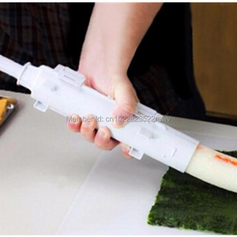 Rullo a pelo Rotolo di Sushi Stampo Utensili Da Cucina Gadget Sushi maker Bazooka Riso Verdure Carne FAI DA TE Che Fanno Accessori Da Cucina sushi strumenti