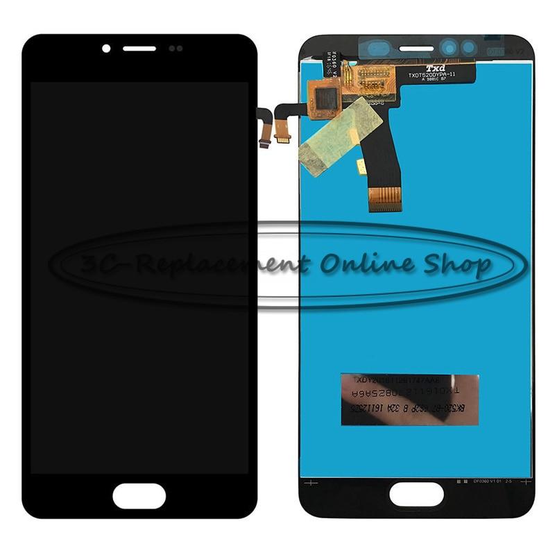 imágenes para NUEVO Para Meizu M5 M611D M611A M611Y M611D M611H/Meizu Meilan M5/Meizu M5 Mini Display LCD + Pantalla Táctil Digitalizador Asamblea