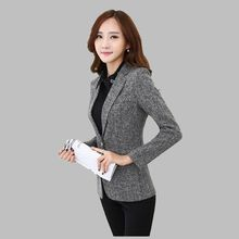 Women Autumn Suit Latest Style Career Suits High quality Pure color Long sleeve Small Suit Large size Ladies Office Suit G2692