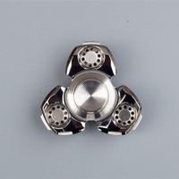 Fidget Spinner Stain Steel Tri Bar Hand Spinner Educational Toys For Kids Adult High Quality Spinner