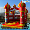 Aladdin Castle Style Inflatable Trampoline For Kids Playing And Praying