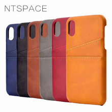 Retro Leather Cases For iPhone XS Max XR Wallet Case With Card Slot Vintage Leather Cover For iPhone X 7 8 Plus 6 6s Plus Fundas caseme for iphone 6s plus 6 plus wallet retro split leather cover with detachable pc case blue
