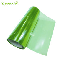 Dropship Hot Selling Green Color Change Auto Tint Vinyl Wrap Sticker Headlight Film Car Light 100