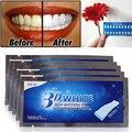 14 Pares 3D Avançada Branco Gel Dentes Branqueamento Dentes Branqueamento Tiras de Clareamento Branco Cuidados Com a Higiene Bucal Profissional