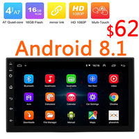 2Din Android 8.1 Car Multimedia Player 1G RAM GPS Wifi 2 Din HD 7 Touch Screen Radio Stereo 7 Inch MP4 MP5 Bluetooth FM 47
