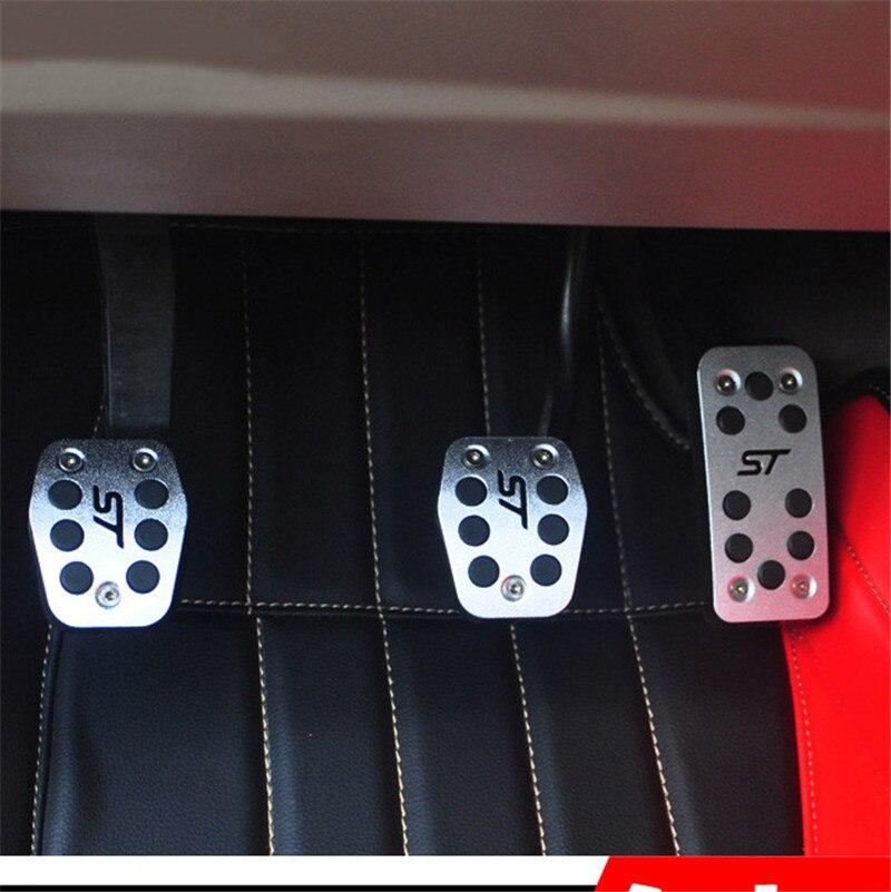 Aluminum Aolly Car Accelerator Pedals Brake Pedal Clutch ...