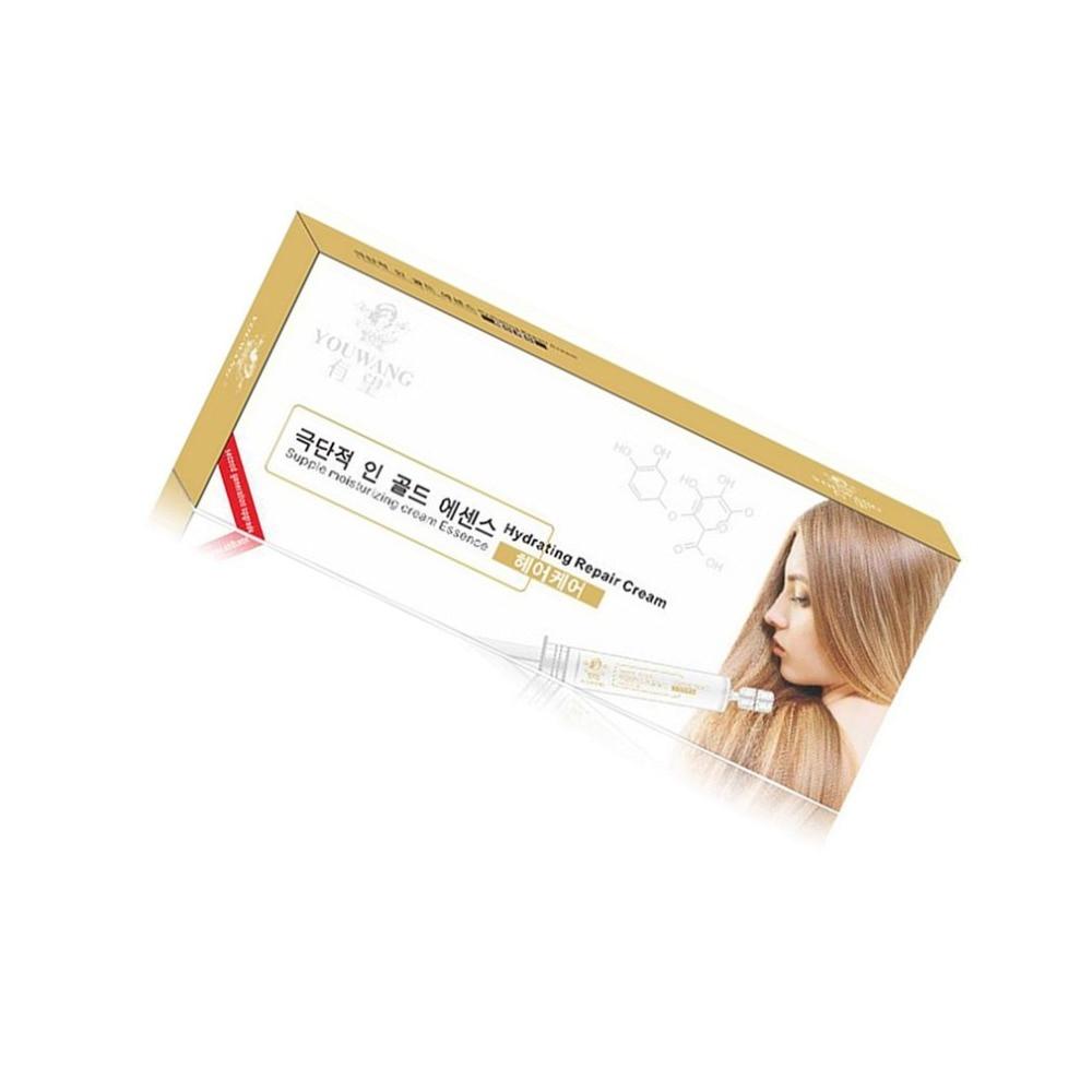 2PCS/SET Water Light Needle Dry Cleaning Hair Mask Dry Damaged Hair Moisturizing Repair Replenishing Water  Hair Care Treatment