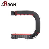 Original U Grip Handheld Smartphone Video Rig Triple Cold Shoe Steadicam Stabilizer for Nikon Canon Sony A7 A9 DSLR Videomakers