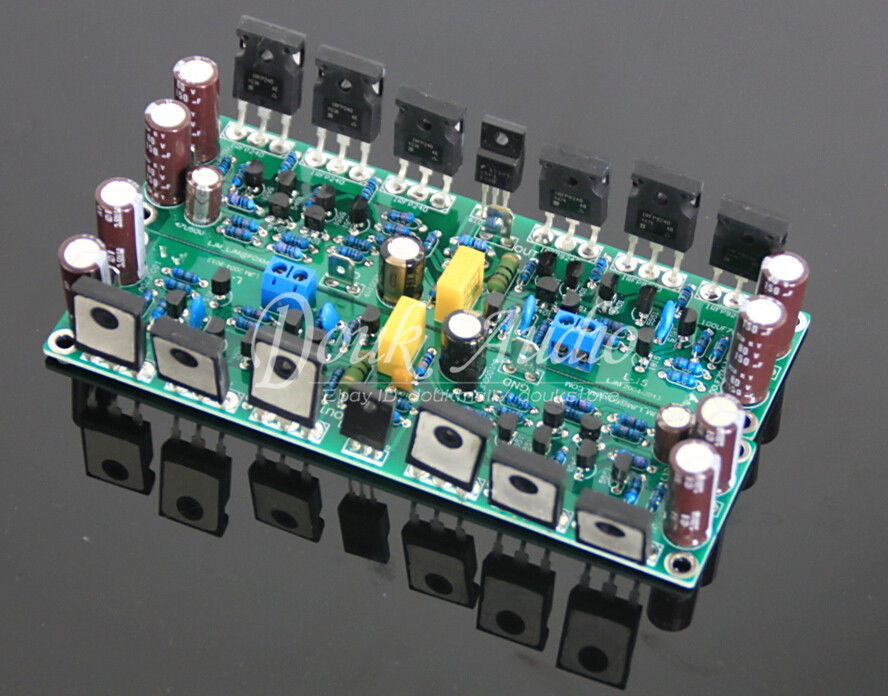 цена на Douk Audio FET Power Amplifier Stereo 2.0 Channel HiFi Amp Assembled Board
